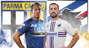 Parma e Sampdoria scenderanno in campo a maglie invertite