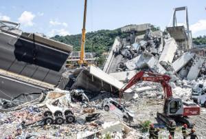 Il 14 agosto 450 parenti delle vittime al ponte Morandi