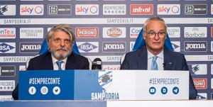 Ranieri: 'Voglio impegno fino alla morte, sono qui per salvare la Sampdoria'
