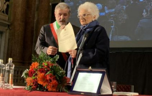 A Liliana Segre il Premio Primo Levi e la cittadinanza onoraria di Genova