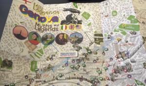'Miti, leggende, Genova', la cartina turistica del mistero in 3D