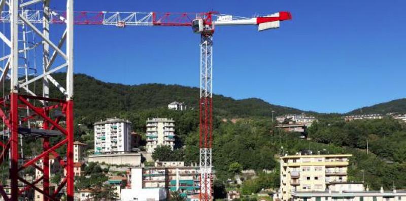 Genova, cerimonia della bandiera all'ex Boero di Molassana