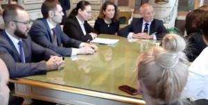Delegazione di Ekaterinburg a Genova