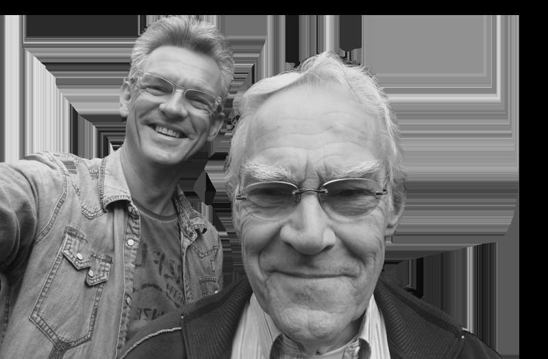 Hans-Elias en zijn vader