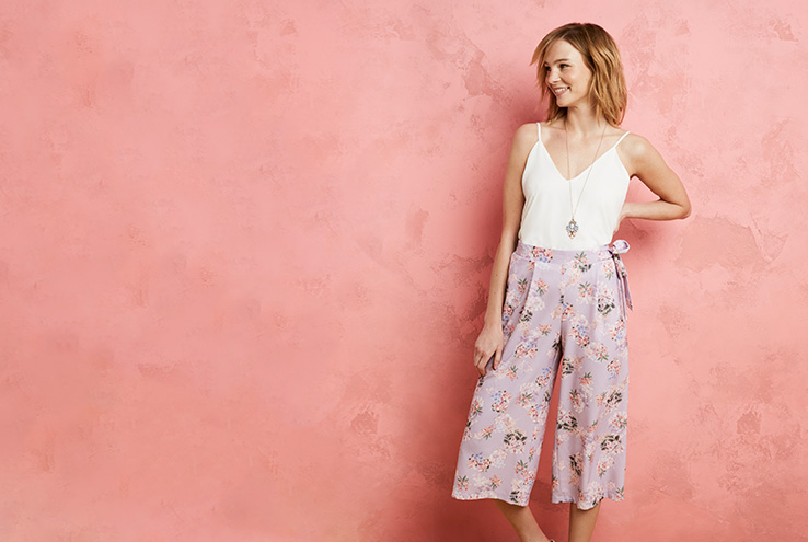 Go for classic florals