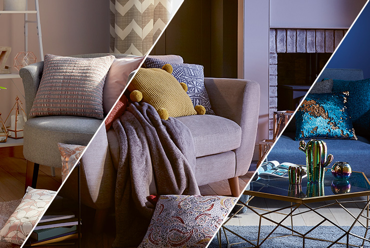 Get inspired with geometrical patterns, sleek copper accents and contemporary accessories from our Harmony collection