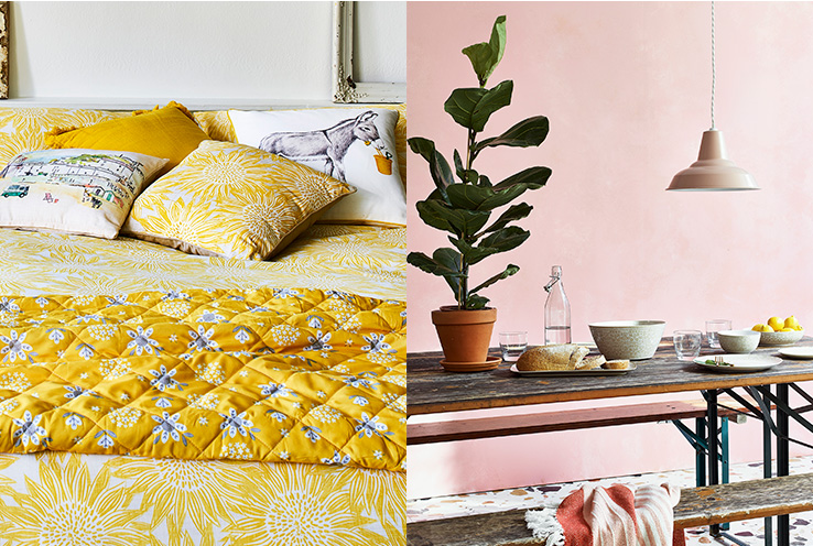 Discover our 2019 home trends, including Sunbaked, Lemon Soul and Wonderland