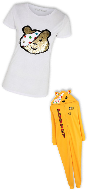 Shop our range of Pudsey t-shirts