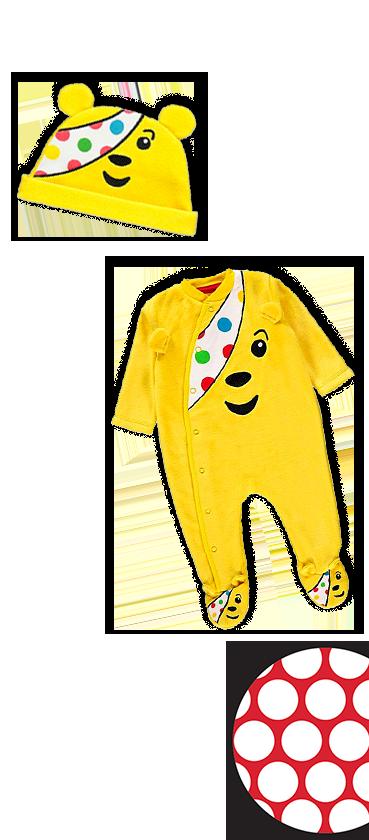 Shop our Pudsey babywear range