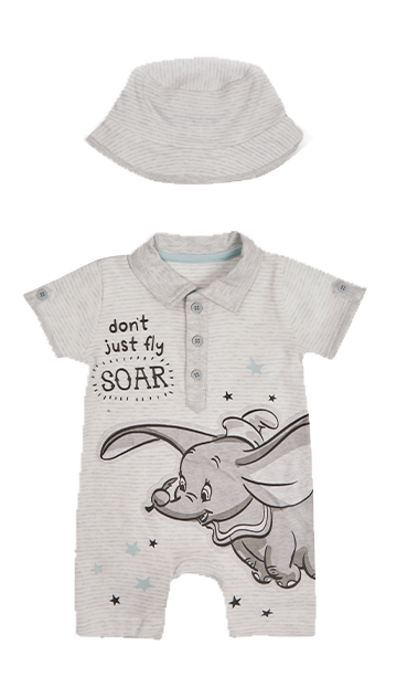 They'll love watching the new film in Dumbo-themed clothing