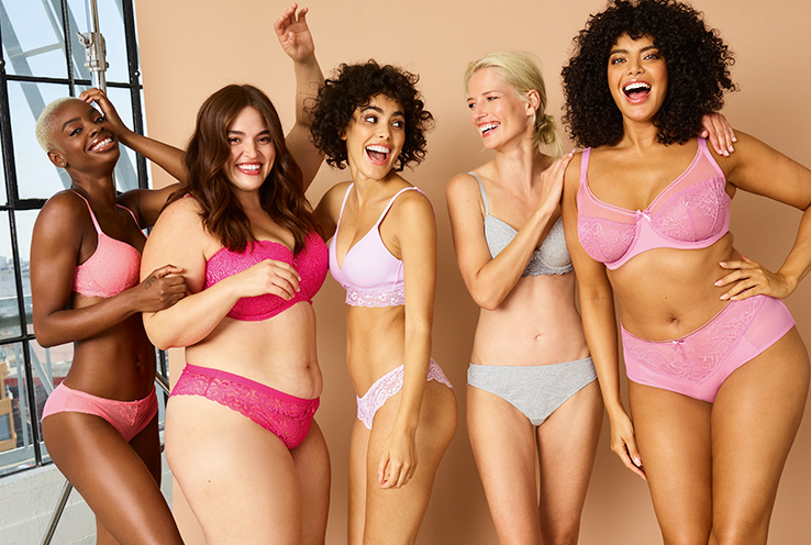 Shop our gorgeous range of lingerie for every body