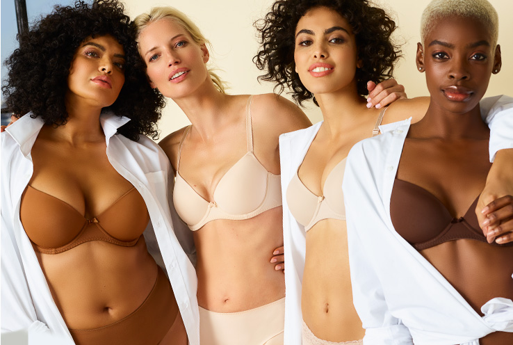 Take a look at our guide to find a nude bra that's right for you