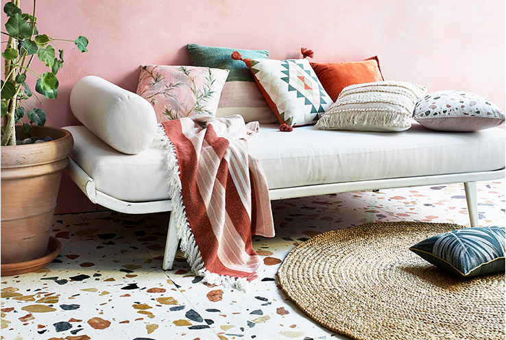 Create your very own summer villa with our Sunbaked home collection