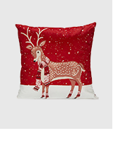 Looking for more festive decorating ideas? Shop our deer cushion