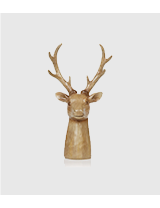 Make your décor stand out this Christmas. Shop stag head ornament