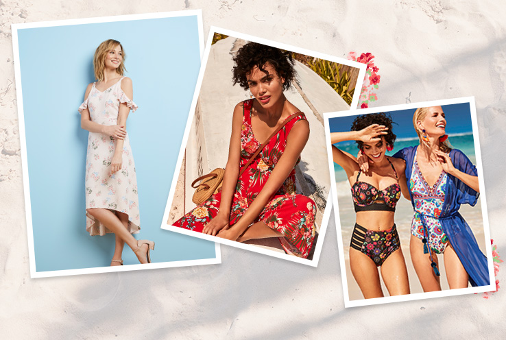 Look blooming beautiful this summer with our range of floral clothing