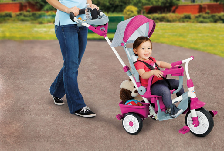 We know that every child proceeds at his or her own pace when it comes to riding a bike. Life & Style share tips on how to get your child ready to ride trikes and bikes safely.