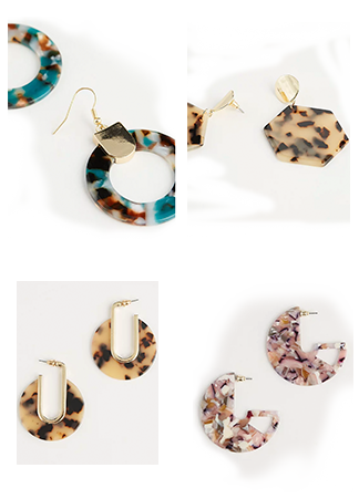 Discover hoop, diamanté and statement earrings