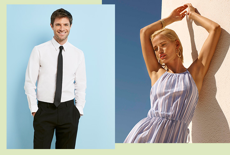 If you're wondering what to wear to the championships this year, Life & Style have gathered style cues to make sure you and your partner nail the courtside look with matching his and hers outfits.