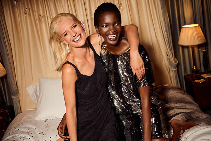 Celebrate New Year's Eve in style with our partywear range