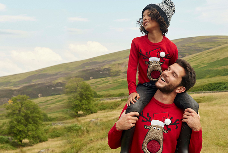 Win best-dressed with our range of Christmas jumpers