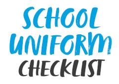 School Uniform Checklist