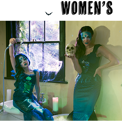 Look drop-dead gorgeous with our range of women's Halloween outfits at George.com