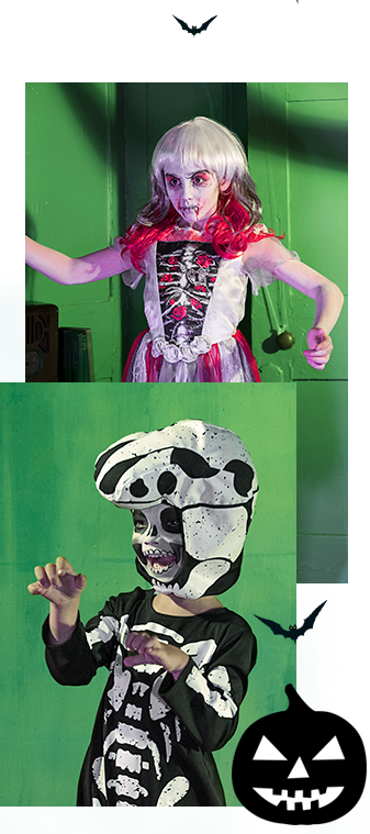 Ensure little horrors look spook-tastic this Halloween with our kids' fancy dress ideas at George.com
