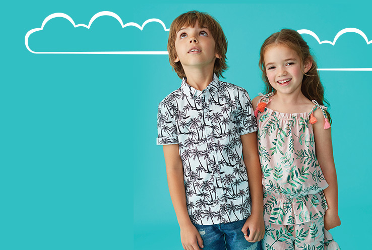 From playful motifs to sweet separates, explore our new kids' collection. Shop now