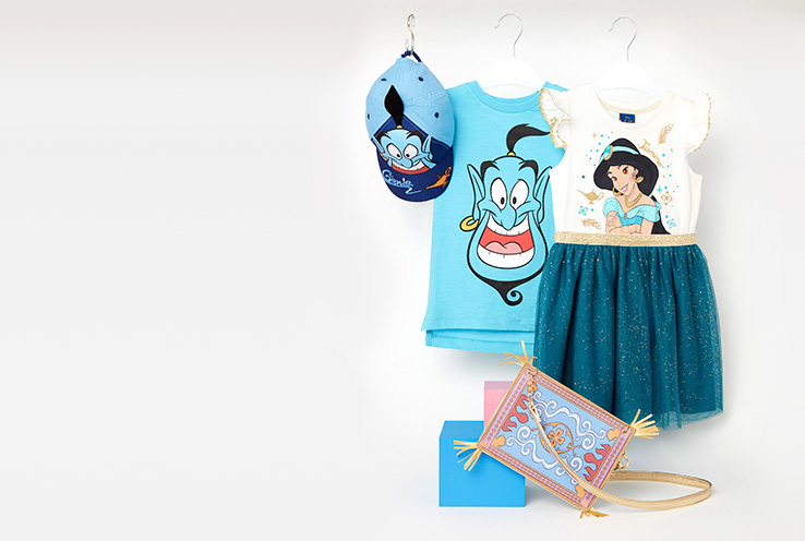 Explore our Disney Aladdin collection