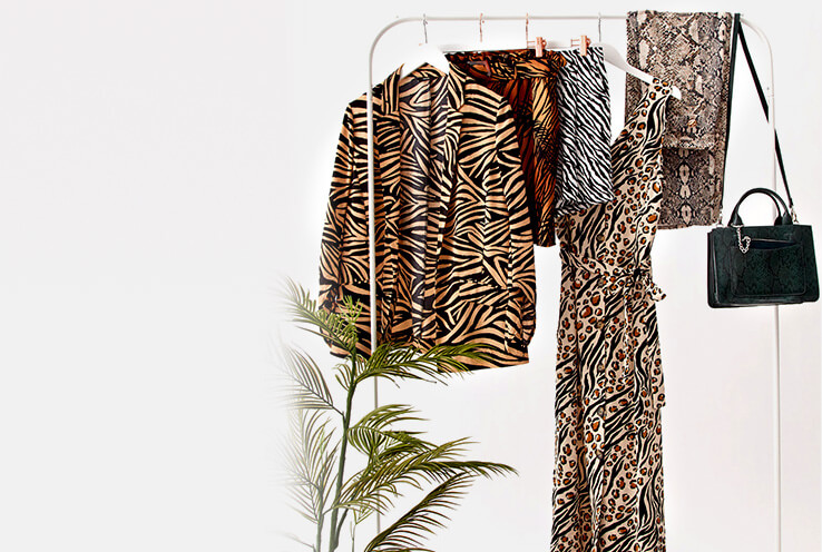 Show off your wild side with this season's animal print trend