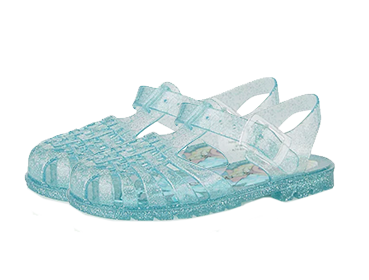 Treat their feet to colourful jelly sandals this summer