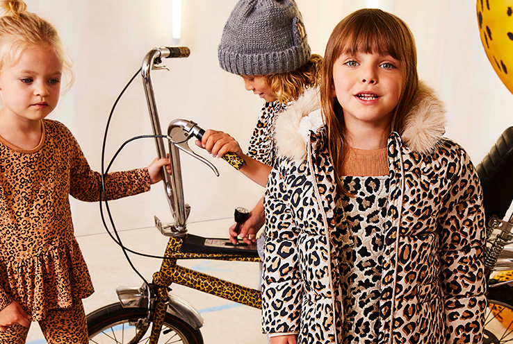 Discover Ochre and Animal Print, our two new trends for kids