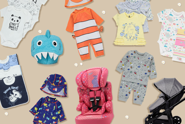 Travelling with your baby can be overwhelming, especially if it's your first time. Life & Style share essential baby clothes and travel accessories you'll need to pack for your baby's first holiday.