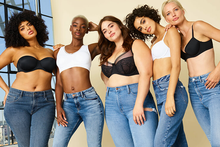 From lace to T-shirt and nursing bras, explore our lingerie collection and discover your perfect fit