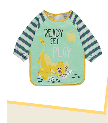 Make mealtimes fuss-free with this Disney Lion King bib, designed with a PEVA lining