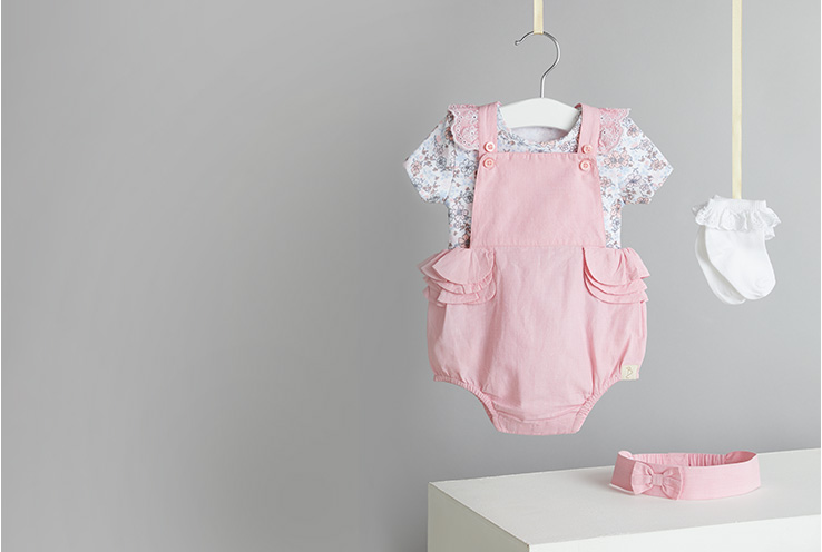 Start building their spring wardrobe! Shop baby clothing and essentials