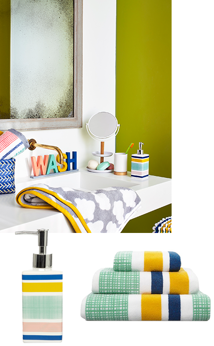 Add a pop of colour to your bathroom with accessories from our Scandi Simplicity range at George.com