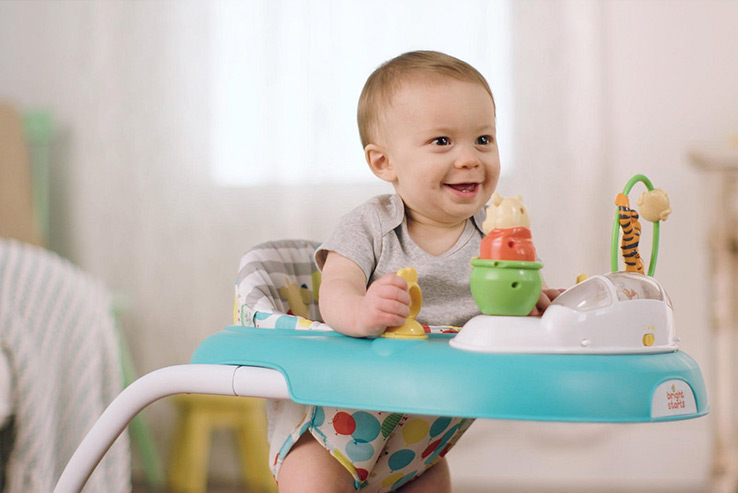 If you're struggling to choose between a baby bouncer and a baby walker, Life & Style highlight the key features for both products to help you choose the right one for your baby's development.