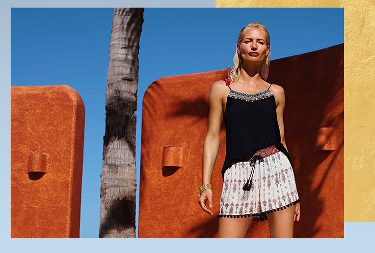 Bring a relaxed vibe to summer style
