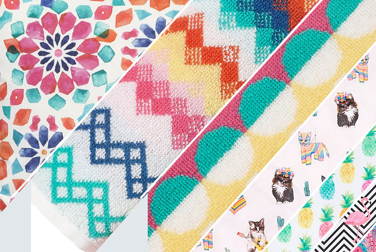 If you're a fan of fluoros, all about quirky accessories or in love with print, the Bohemian Brights collection is for you