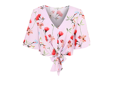 Go glamping with our range of blouses and shorts