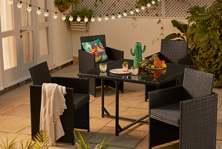 Is your garden in need of a refresh for summer? Our essentials edit has everything you need from sizzling BBQ's to stylish outdoor seating. Shop now