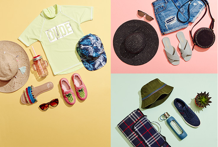 Jetting off to sunnier climes? Kit the family out with our holiday shop