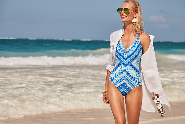 Swimsuits are one piece that has evolved more than any other garment. Life & Style takes a look back at the history of swimwear, and how it has evolved from the beginning of time.