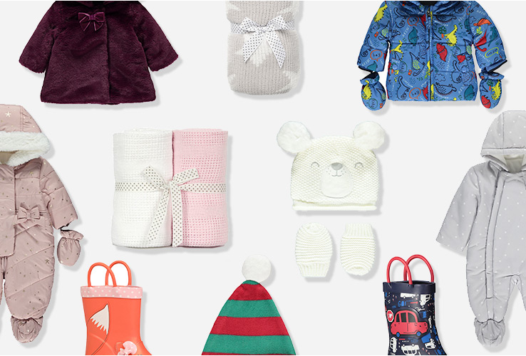 Keep your little one warm outside with our selection of outdoor clothes for babies