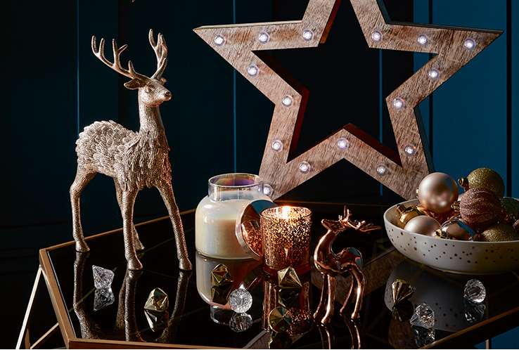 Fill your home with Christmas magic. Shop trees and decorations