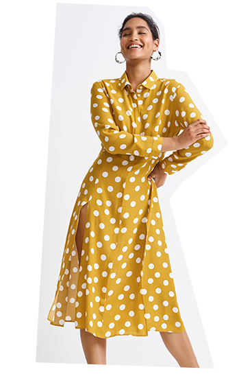 Go dotty for polka dots