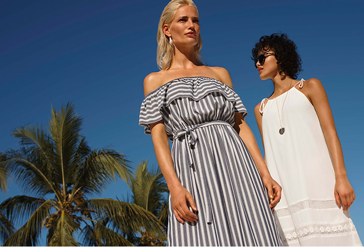 From statement swimwear to ultra-light fabrics, discover our new Summer Blues collection.