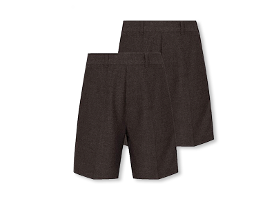 Comfortable and smart, these school shorts can be tumble dried - perfect for active boys and busy parents